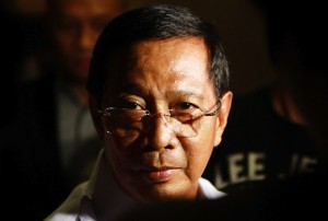Lurking in the shadows: Vice President Jejomar Binay