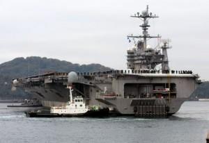 The USS George Washington: saviour of thousands of Filipino lives following the Haiyan disaster