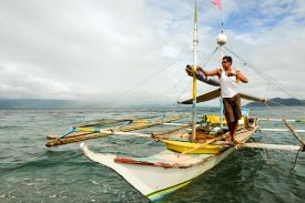Casiguran fishing and farming communities have been self-sufficient for centuries.