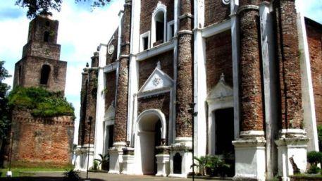 Santa Monica Church in Sarrat, Ilocos Norte where Irene Marcos wed Greggy Araneta in 1983