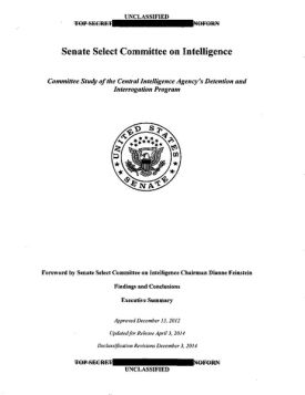Download the US Senate Select Committee on Intelligence report on CIA torture practices here.