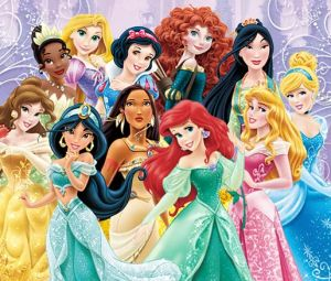 Disney's beloved princess characters the way they originally appear in the movies