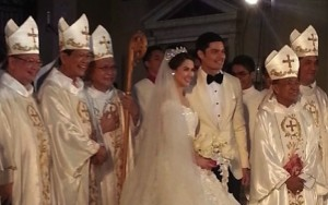 How many Catholic bishops does it take to marry a Filipino 'royal' couple?