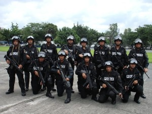 Comrades left to be slaughtered: a unit of the Philippine National Police Special Action Force.