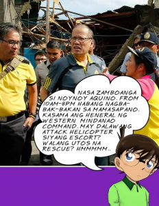 Noynoy was in the vicinity that fateful Sunday afternoon. Yet there are times he said he knew nothing or was lied to. You are even more awe inspiring.