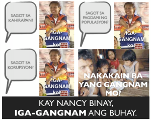 Jojo Binay says that this is senator material. For that alone he should be flogged.
