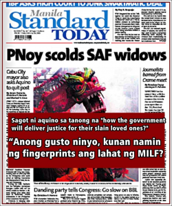 Noynoy botched his opportunity at damage control that it reads like a blooper reel.