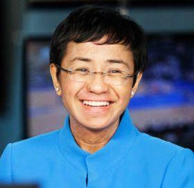 God's gift to Philippine journalism:Rappler CEO Maria Ressa