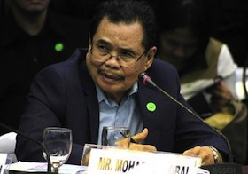 Sincerity in question: Moro Islamic Liberation Front peace panel chairman Mohagher Iqbal
