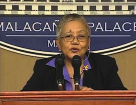 Presidential Peace Advisor Teresita Deles: Whose side is she on?