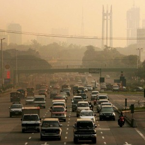 A toxic haze permanently blankets Metro Manila in the Philippines.