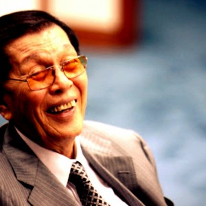 Still alive: Then Minister of Defense, Juan Ponce Enrile was the architect of Martial Law.