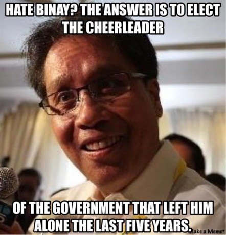 If you ask who loves to kiss Noynoy's a$$ then Mar Roxas is your answer.