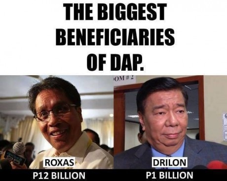 Remind me again what Enrile, Estrada and Revilla are in jail for?