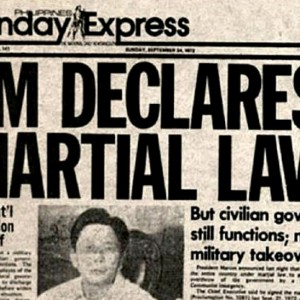 Declaring Martial Law itself was not illegal. It was the abuse committed under it that was.