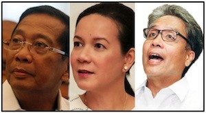 All the same: The current crop of Philippine 'presidentiables' fail to inspire.