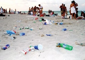 Littering is not the best way to show one's love for country. (Photo source: MichaelKonik.com)