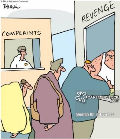 Complaints/Revenge