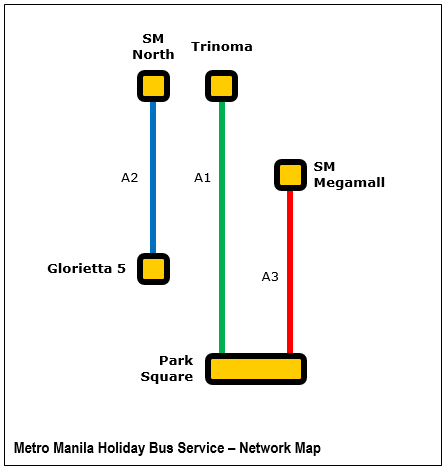 In its current form, Manila's Holiday Bus Service could be the embryo of a long-overdue modern bus transport system.