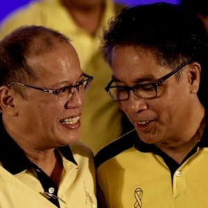 Not fit for purpose: 2016 presidential candidate Mar Roxas with current president Noy-Noy Aquino