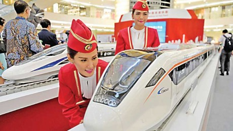 Chinese-bullet-trains