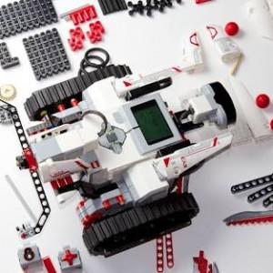 A Lego robot kit