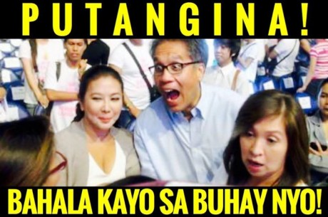 Words and demeanor of Mar Roxas . This is the statesman we need to lead us.