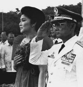 Still alive: Then Philippine Constabulary chief Gen. Fidel Ramos led the dreaded 'anti-subversion' unit of the Martial Law regime.