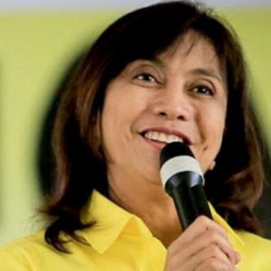 In need of a bit of humility: Leni Robredo