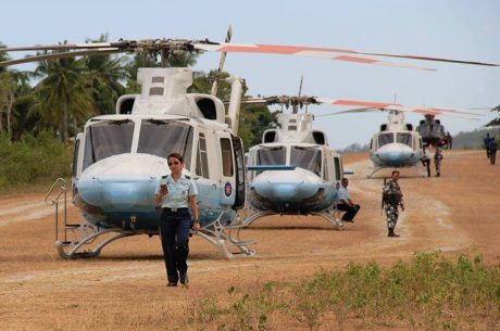 Kris Aquino's massive fleet of helicopter escorts
