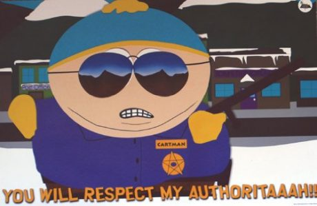 cartman respect authoritah