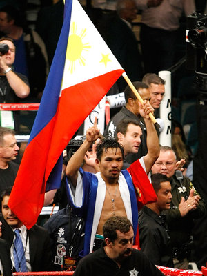 Each time Manny steps in the ring so that the KSP pinoys can hope for this scene brings him closer and closer to CTE. Happy now ?? What cost for pinoy pride?