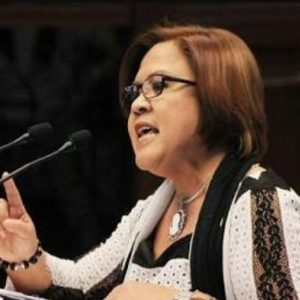Senator Leila de Lima: Engaging in character assassination