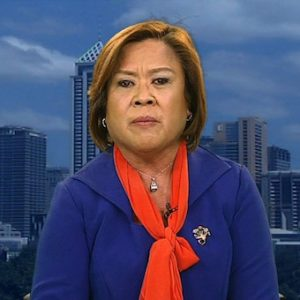 Senator Leila de Lima: Not an authority on human rights having violated these herself as DOJ Secretary